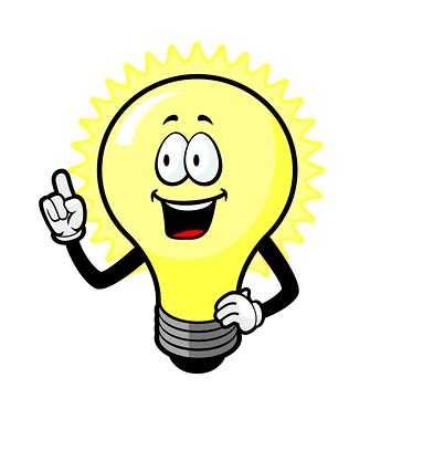 Image result for thought light bulb