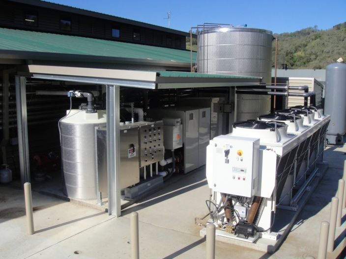 transcritical CO2 system
